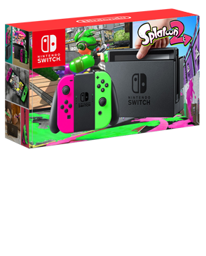 Nintendo Switch + Splatoon 2