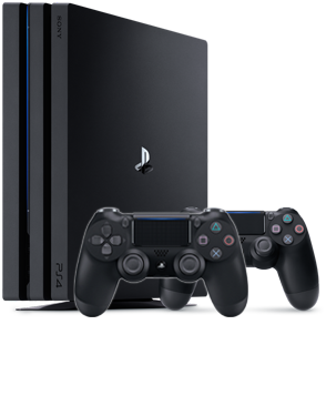 PlayStation 4 Pro 1 Tb (CUH-7216B)+DualShock 4 Black V2
